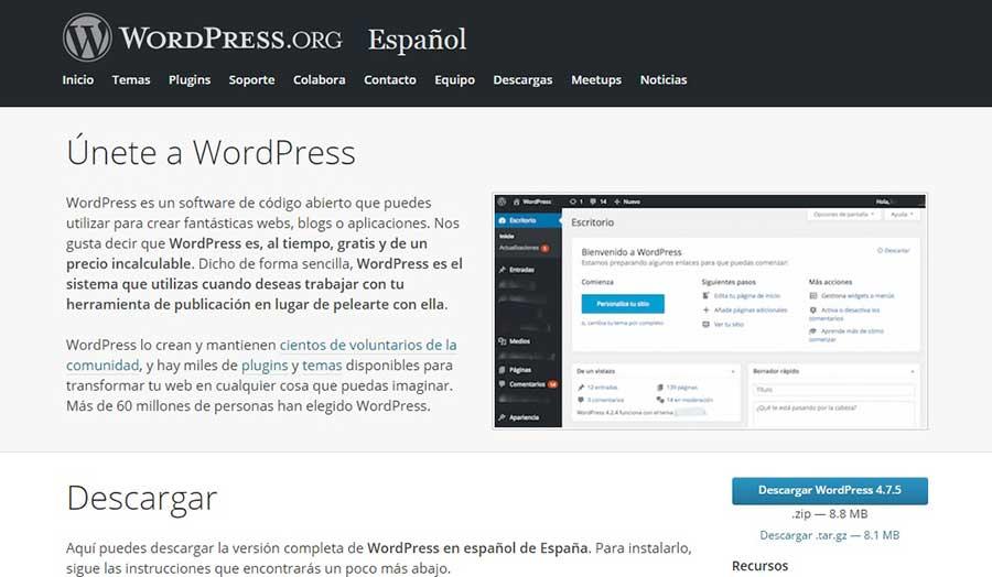 como actualizar wordpress